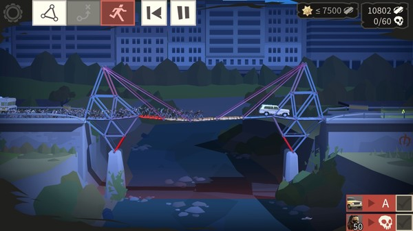Bridge Constructor - The Walking Dead