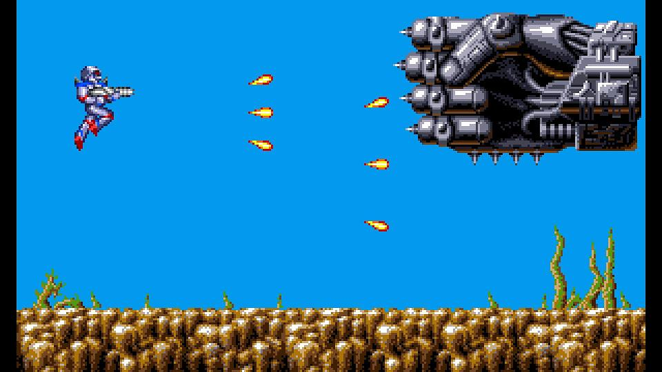 Turrican Flashback review(PS4)