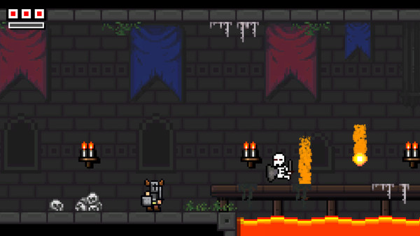 Indie Roundup: Horned Knight, Sir Lovelot, Castle Kong & Pachi Pachi on aRoll