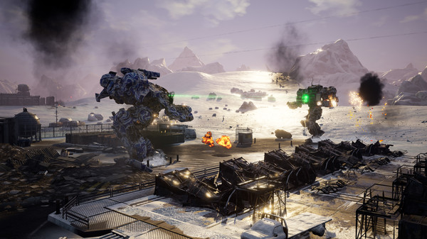 Mechwarrior 5: Mercenaries relaunched with cross-play and newDLC