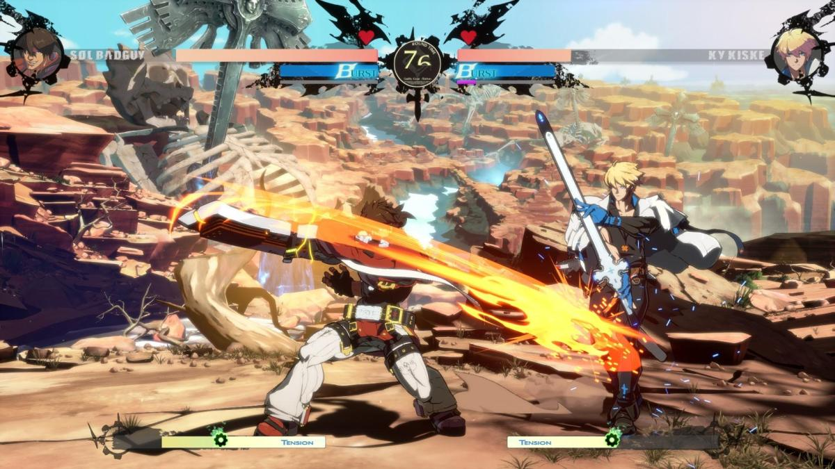 Guilty Gear -Strive- review(PS5)