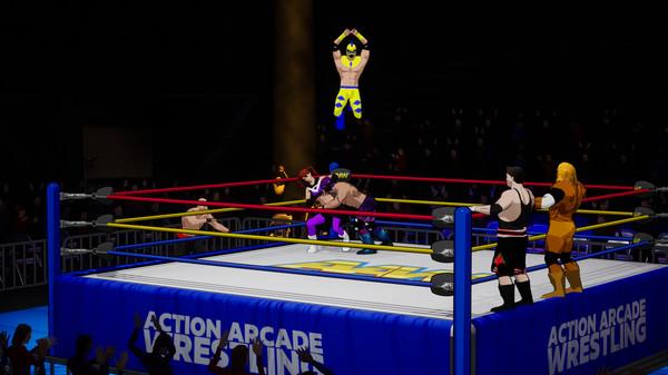 action arcade wrestling2