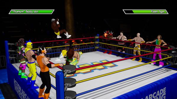 action arcade wrestling3